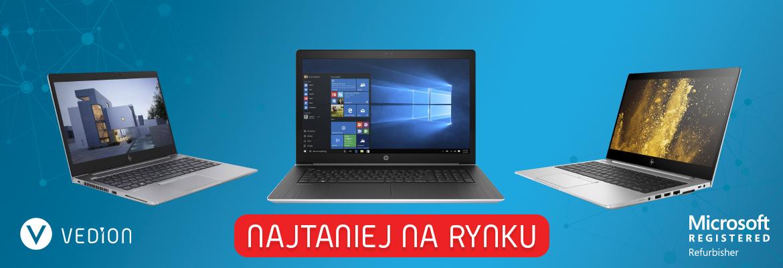 Laptopy poleasingowe HP