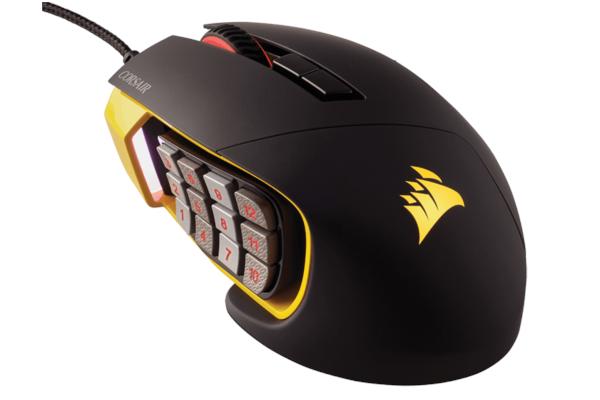 mysz gamingowa corsair scimitar