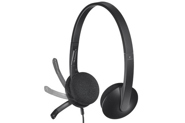 cyfrowe słuchawki z mikrofonem h340