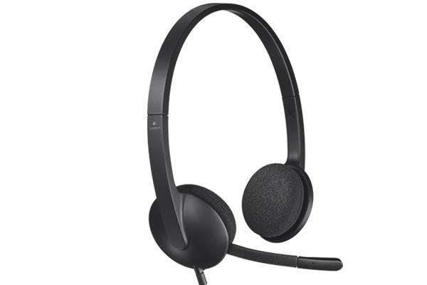 logitech h340 słuchawki z mikrofonem