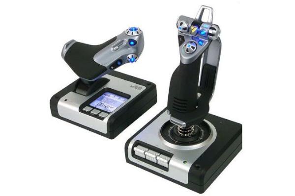 logitech joystick saitek x52