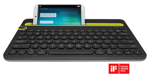 logitech k480 bluetooth