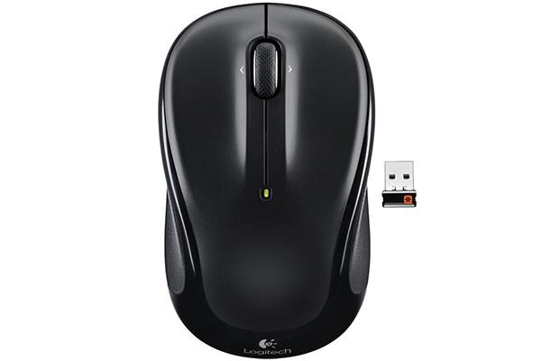 mysz m325 logitech czarna