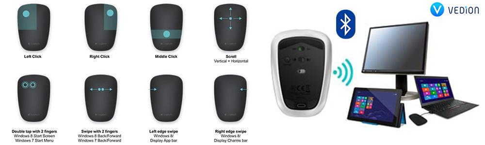 logitech t630 ultrathin mouse