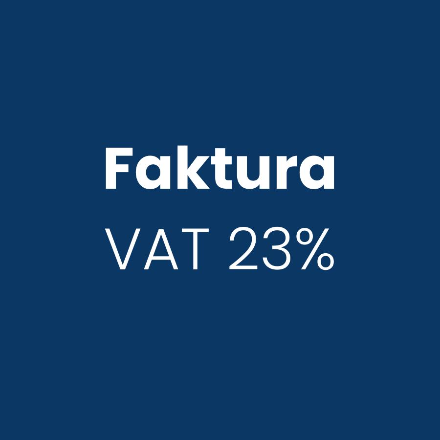 Faktura VAT 23%