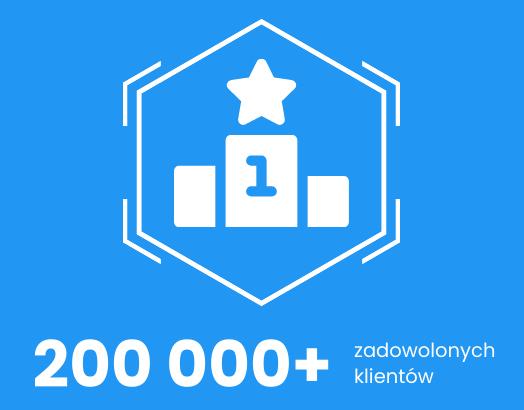 200 000 zadowolonych klientów