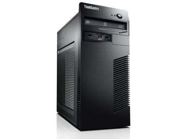(A) Komputer + Monitor Lenovo ThinkCenter M73 Tower - G3250 / 16 GB / 240 GB SSD / Klasa A