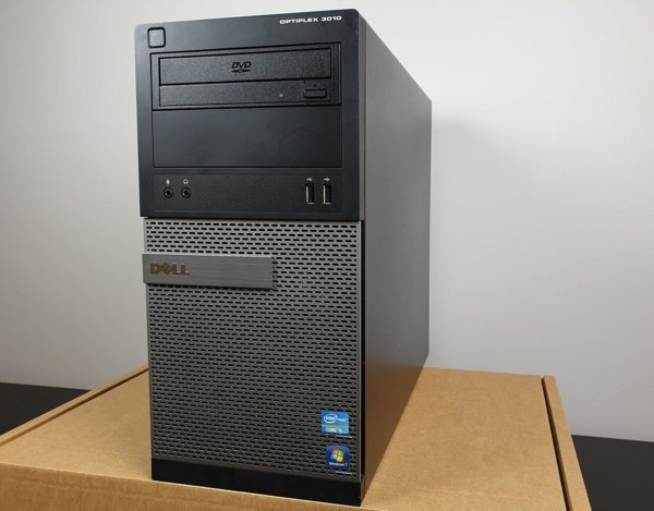 (A) Komputer stacjonarny Dell Optiplex 3010 MT - i5-3470 / 4GB / 250 GB HDD / KLASA A