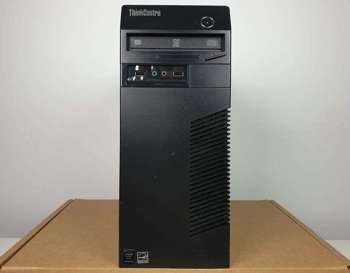 (A) Komputer stacjonarny Lenovo ThinkCenter M73 Tower - G3250 / 4 GB / 250 GB HDD / Klasa A