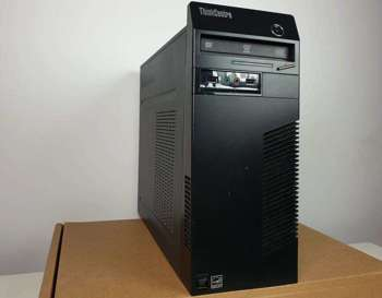 (A) Komputer stacjonarny Lenovo ThinkCenter M73 Tower - G3250 / 8 GB / 250 GB HDD / Klasa A