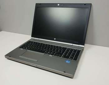 "(A) Notebook HP EliteBook 8570P - i5 -3 generacja / 4GB / 240 GB SSD / 15"" 1600x800 HD+ / Klasa A"