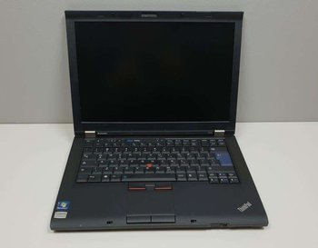 "(A) Notebook Lenovo ThinkPad T410 - i5-M520 / 4 GB / 120 GB SSD / 14"" WXGA / Klasa A"