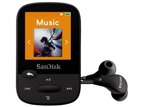 (R) Odtwarzacz MP3 Sandisk Clip Sport 8GB BLACK