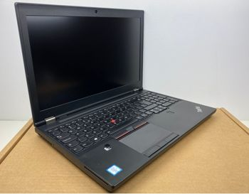 Laptop Lenovo ThinkPad P50 i7 - 6820HQ / 4GB / 250 GB HDD / 15,6 FullHD / M2000M / Klasa A